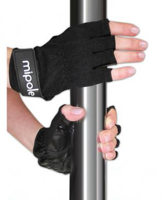 MiPole Dance Pole Gloves (Pair) Small - Black