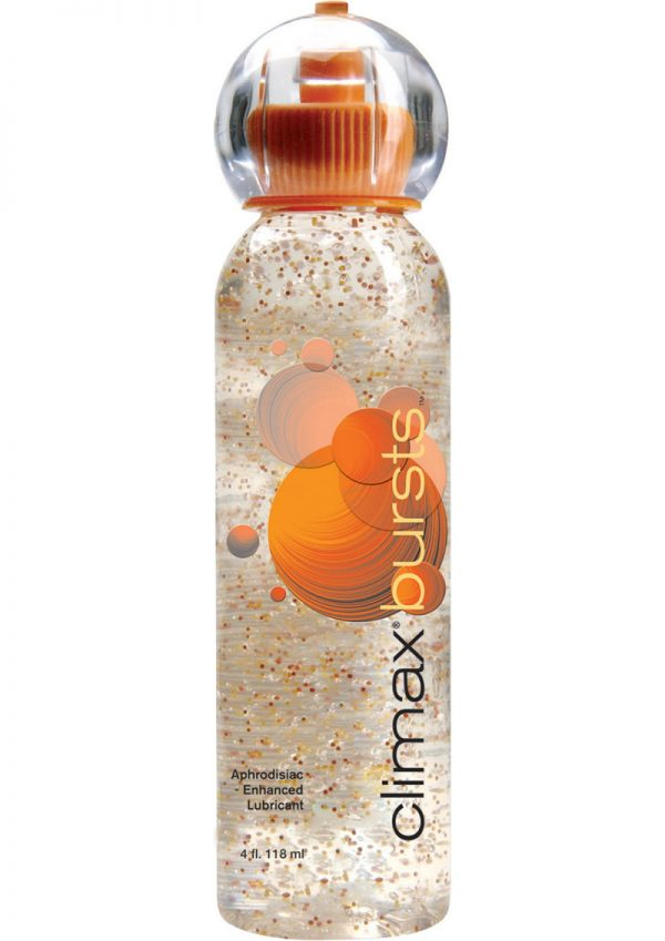 Climax Bursts Aphrodisiac Enhanced Water Based Lubricant 4 Ounce